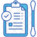 Covid Report Test Icon