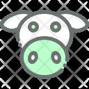 Cow Livestock Dairy Icon