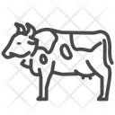 Cow Cattle Beef Icon