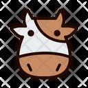 Cow Livestock Beef Icon