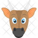 Baby Cow Brown Icon