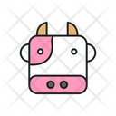 Cow Animal Livestock Icon
