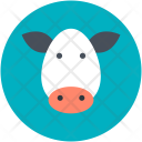 Cow Christmas Animal Icon
