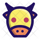 Cow Moo Beef Icon