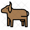 Cow Milk Farm Icon