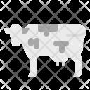 Cow Milk Mammal Icon