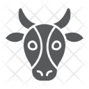 Cow Beef Face Icon