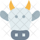Cowm Cow Cow Face Icon