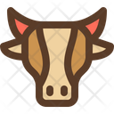 Cow Cattle Head Icon