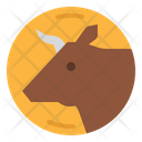 Cow Beef Animal Icon