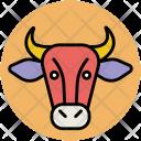 Cow Bovine Animal Icon