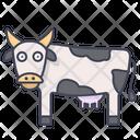 Cow Farm Cattle Icon
