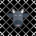 Cow Face Diwali Icon