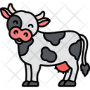 Cow Pet Animal Icon