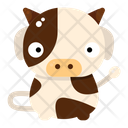 Cow Holy Animal Icon