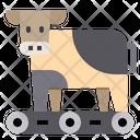 Cow Delivery Farm Icon