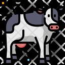 Cow Animal Milk Icon