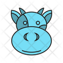 Cow Bull Animal Icon