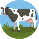 Diary Cow Cattle Icon