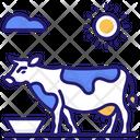 Cow Milking Milk Icon