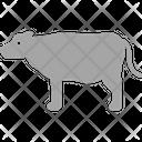 Cow Farm Animal Icon