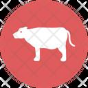 Cow Farm Animals Icon