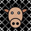 Cow Buffalo Face Icon