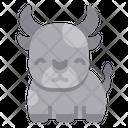 Cow Wild Wildlife Icon