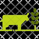Cow Cattle Livestock Icon