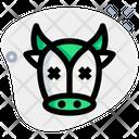 Cow Death Icon