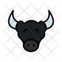 Cow Face Cow Cattle Icon