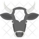 Cow Head Animal Icon