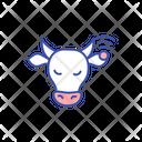 Livestock Cattle Cow Icon