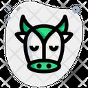Cow Pensive Icon