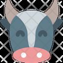 Cow Smiling Icon