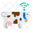 Cow Tracking Belt Icon