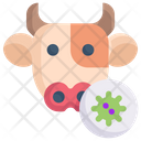 Cow Virus Icon