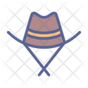 Hat Western Brim Icon