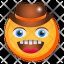 Cowboy Emoji Icon