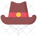 Hat Headdress Cowboy Icon