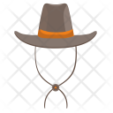 Cowboy Man Head Icon