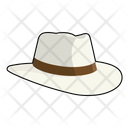 Panama hat Icon