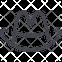 Cowboy Hat Icon