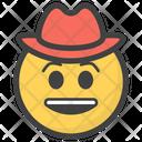 Cowboy Hat Emoji Icon