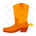 Cowboy shoes Icon