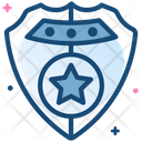 Badge Cop Cowboy Icon
