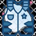 Vest Cowboy Uniform Icon