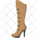 Cowgirl Boot Female Icon