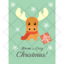 Cozy Christmas Icon