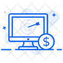 Cost Per Action Cost Per Acquisition Online Advertising Icon
